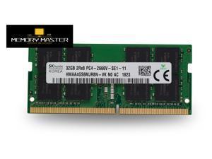 SK hynix 32GB x1 DDR4 2666MHZ HMAA4GS6MJR8N-VK SODIMM Laptop RAM 260pin 2RX8 PC4