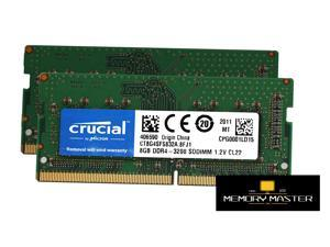 Crucial Memory CT8G4SFS832A.8FJ1 8GB DDR4 3200 SODIMM SRx8 Retail Notebook/Laptop Memory