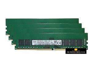 Hynix 128GB(4X32GB) DDR4 PC4-25600 DDR4-3200MHz 1.2V HMAA4GU6AJR8N-XN Desktop Memory RAM