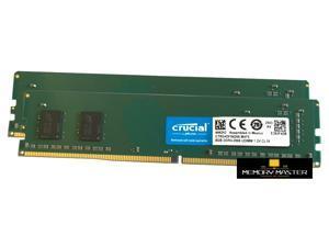 Crucial CT8G4DFS6266.M4FE 16GB 2x8GB PC4-21300 DDR4-2666MHz UDIMM Desktop Memory Ram
