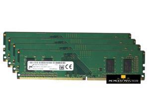 Micron 16GB(4X4gb) DDR4-2400Mhz Pc4-2400t Ddr4 Desktop RAM UDIMM 288-pin MTA4ATF51264AZ-2G3B1