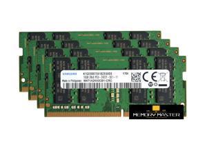 Samsung M471A2K43CB1-CRC 64GB(4X16GB) DDR4 PC4-19200, 2400MHz, 260 PIN SODIMM, CL 17, 1.2V, ram memory