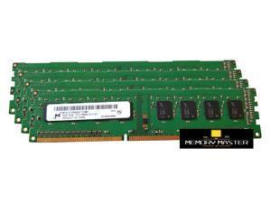 Micron 8GB 4X2GB DDR3 DESKTOP Memory PC3-10600 1333Mhz RAM MT8JTF25664AZ-1G4M1