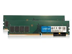 Crucial CT8G4DFS8266.M8FE 16GB 2x8GB PC4-21300 DDR4-2666MHz UDIMM 288-PIN Desktop Memory Ram
