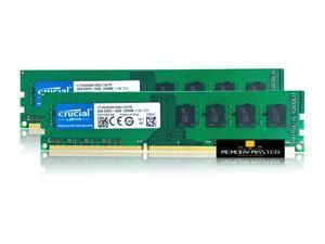 Crucial CT102464BA160B.C16FPR 16GB(2X8GB) DDR3 PC3-12800U 1600MHz 1.5V CL11 UDIMM Desktop Memory