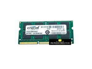 CRUCIAL 8GB DDR3L – 1333 SODIMM MAC CT8G3S1339M.M16FED Laptop RAM Memory PIN-204 CL9 1.35V