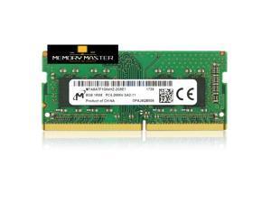 Micron 8GB PC4-21300V SODIMM DDR4-2666MHz 1RX8 Unbuffered Laptop RAM MTA8ATF1G64HZ-2G6E1