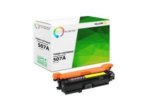 TCT Premium Compatible Toner Cartridge Replacement for HP 507A CE402A Yellow works with HP LaserJet Enterprise M551 M575, Pro M570 M570DW Printers (6,000 Pages)