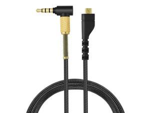 Arctis 3 Cable Arctis 5 Replacement Cable Audio Headset Cord Compatible with Arctis 3 / Arctis Pro Wireless/Arctis 5 / Arctis 7 / Arctis Pro Gaming Headset 2M/6.5feet