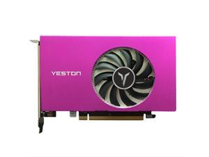Yeston RX550-4G 4HDMI 4-Screen Graphics Card Support Split Screen 10bit Color Depth HDR 4G/128bit/GDDR5 with 4 HDMI Ports