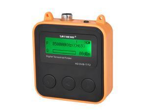 SATHERO SH-110HD Terrestrial Signal Finder Meter DVB-T DVB-T2 HD Digital TV Signal Finder Receiver LCD Dispaly