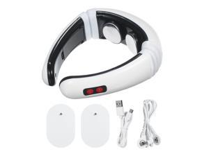 Neck Massager Electric USB Smart Neck Massage with Heat 6 Modes 16 Levels Portable Cordless Massage for Neck Pain Relief at Home Office Outdoor Travel