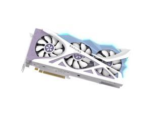 Yeston RX6800-16G D6 YA Graphics Card Gaming Graphics Card with 16G/256bit/GDDR6 Memory Dual Light Effect Mode DP+HD+Type-C Ports
