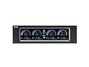 STW-5043 Fan Speed Controller Standard 5.25'' Drive Fan Cooling Governor with Adjustable Brightness and Touchable Screen
