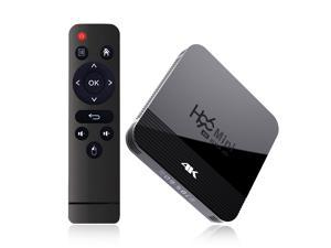 H96 MINI H8 Android 9.0 TV Box UHD 4K Media Player 2.4G/5G WiFi Amlogic RK3228A Quad Core ARM Cortex A7 Smart TV Box with Remote Control Support 4K BT/HD/AV/Optical Out