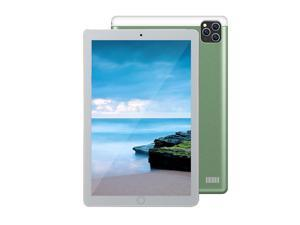 10.1'' Metal Tablet with MT6592 Eight-core Processor 1280*800 Resolution 2GB+32GB Memory Support 2G/3G Calls Green+Black US Plug Light Green