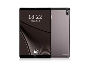 10.1inch Metal Tablet with MT6592 Eight-core Processor 1280*800 Resolution 2GB+32GB Memory Support 2G/3G Calls Black US Plug Gray