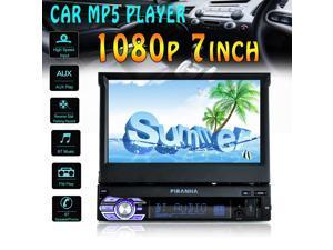 7 Inch Car Mp5 Player Stereo Radio HD Touch Screen Bluetooth Radio + Camera
