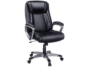 InsmaOffice Exectuive High Back Adjustable Managerial Home Desk Swivel Computer Family Office Chair
