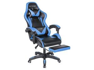 Gaming Office Ergonomic Computer Chair 150°Reclining With Footrest