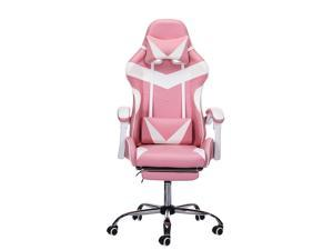 Upgraded Executive Office Home Gaming Racing Chair 150° Lying Recliner Swivel Computer Seat