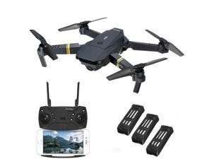 Eachine E58 WIFI FPV With 720P HD Wide Angle Camera High Hold Mode Foldable RC Drone Quadcopter RTF Three Batteries