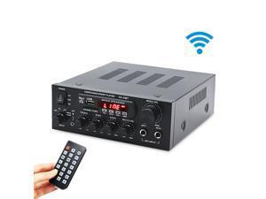 KS-33BT 2x450W bluetooth Stereo LED Digital Audio Amplifier HiFi USB Memory Card Aux FM Radio Home - 110V