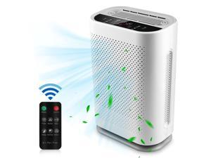Large Room Air Purifier for 753 SQ.FT Air Cleaner with 5 H13 True Filters Quiet Air Cleaner Odor Eliminators for Mold Bacteria Smoke Germ Dust and Pollen 99.99% Purification