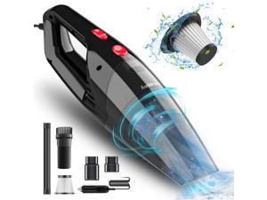 Car Vacuum Cleaner, Portable Vacuum Cleaner for Car, 5500PA High Power Handheld Vacuum, Wet Dry Car Hand Vac DC 12V Corded Vacuum Cleaner