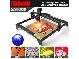 Laser Engraver, 40W A5 Pro FixedFocusing Laser Engraving Cutting Machine, 5.5W Compressed Spot LD CNC,410x400mm Large Engraving Area,Fast and High Precision Cut Engraver for Metal Wood Vinyl Leather