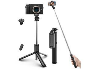 Super Light Telescopic Selfie Stick Bluetooth Remote Tripod Monopod Phone