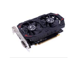 CUUWE GeForce GTX1050Ti 4G 128bit GDDR5 Gaming Graphics Card with Dual Fan Gaming Video Cards