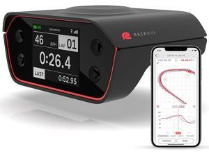RaceBox 10Hz GPS Based Performance Meter Box with Mobile App - Car Lap Timer and Drag Meter - Racing Accelerometer Data Logger