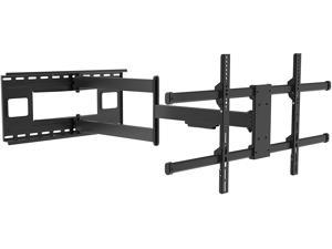 PUTORSEN Long Arm TV Wall Bracket Mount with 40-inch Extension,  Full Motion TV Wall Mount Fits Most 43-80 inch Flat&Curved LED Screens, Swivel Tilt Arm with Max VESA 800x400mm, Holds up to 110lbs