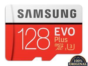 New 100% Original Samsung Memory Card EVO PLUS 128GB Reading Speed 100M/s Write Speed 60MB/s  Micro SD Card Class 10 U3 UHS-I TF Card With Adapter