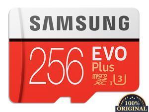 New 100% Original Samsung Flash Memory Card EVO PLUS 256GB Reading Speed 100M/s Write Speed 90MB/s  Micro SD Card Class 10 U3 UHS-I TF Card With Adapter