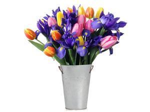 Stargazer Barn -Tulip & Iris bouquet