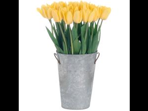 Stargazer Barn - 30 Yellow Tulips with vase