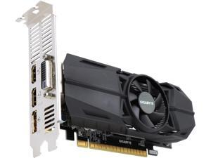 GIGABYTE GeForce GTX 1050 Ti OC Low Profile 4GB Video Card, GV-N105TOC-4GL