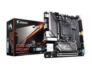 GIGABYTE Z390 I AORUS PRO WIFI LGA 1151 (300 Series) Intel Z390 SATA 6Gb/s Mini ITX Intel Motherboard