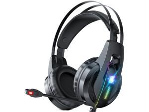 ONIKUMA Game Headset With 7.1 Surround Sound And RGB LED, Compatible With Xbox One, PS4, PS5, PC (Excluding Adapter) (RGB)