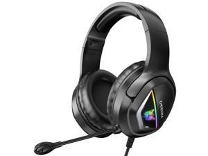 ONIKUMA PS4, PS5 Headset , Headphone With Surround Sound Led Light, For Games Headphone Of PS4, PS5, Xbox One, PC, Nintendo And Laptop