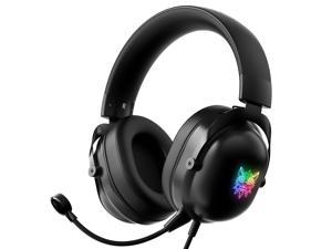 ONIKUMA X11 Professional Gaming Headset Microphone Detachable Ear-Hook Wired LED  Surround Sound Headset, For  Nintendo / XBOX One/ PS4 / PC / Laptop Games