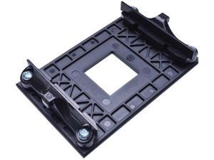 AM4 CPU Heatsink Bracket,Socket Retention Mounting Bracket for Hook-Type Air-Cooled or Partially Water-Cooled Radiators, AMD CPU Fan Bracket Base for AM4 (B350 X370 A320) (Black)