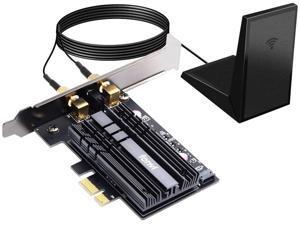 AX200 PCIe WiFi Adapter Card WiFi 6 PCIe Wi-Fi 6 802.11ax Card PC Internet Network Wireless PCI Card Next-Gen MU-MIMO 2x2 2.4GHz 5GHz BT 5.0 3000Mbps 11AX Miracast vPro AX200NGW OFDMA WiFi nic