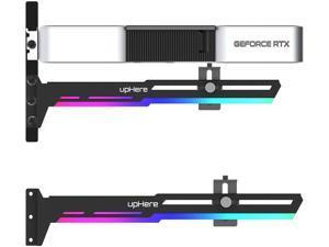 5V 3PIN Addressable RGB Graphics Card GPU Brace Support Video Card Sag Holder,Built-in 5V ARGB Strip,Adjustable Length and Height Support,G276ARGB