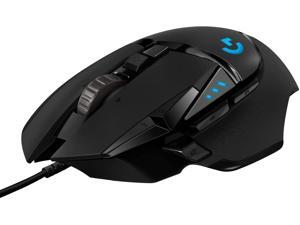 G502 HERO High Performance Wired Gaming Mouse, HERO 25K Sensor, 25,600 DPI, RGB, Adjustable Weights, 11 Programmable Buttons, On-Board Memory, PC / Mac