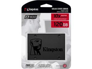 "Kingston 120GB A400 SATA 3 2.5"" Internal SSD SA400S37/120G - HDD"