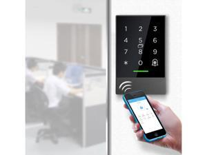 Loqness Touch Access Control Keypad,Access Control Backlit Keypad,WIFI/Bluetooth Keyless Door Entry Device,SmartPhone Access Control, E-Key Share Function,Remote Access Control, APP Unlock