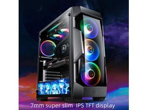 fairdog super slim design 8.8 Inch 1920*480 Screen For Aida64 PC Case DIY Kits 7mm thickness TFT IPS LCD screen Tool-free magnetic installation